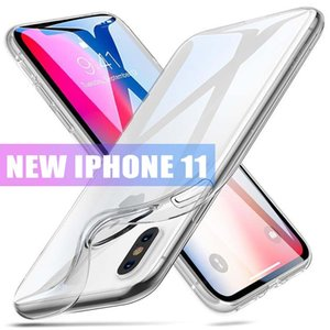 Superfast P40 claro transparente TPU 1mm Gel caso de la cubierta para Iphone 11 XS 8 MAX PLUS Galaxy S10 S10 S20 PLUS Plus MOTO G7 POWRER Huawei