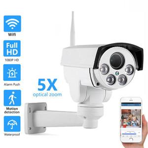 1080P Security Camera WIFI Outdoor PTZ Wireless IP Camera Audio 2MP 5MP Pan Tilt 5X 10XZoom IR Network Surveillance P2P