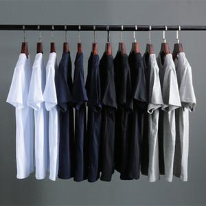 collo rotondo ODORy economico a maniche corte T-shirt delle donne sottili mutande bianco estate tutto-fiammifero top T-shirt mutande che basa interno 2020 Nuovo
