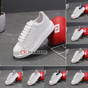 2021 Top Quality Casual Sneakers vestido de veludo sapatos Womens Chaussures Preto Mens sapatos bonito Plataforma de couro Cores sólidas Sapatas Com Box