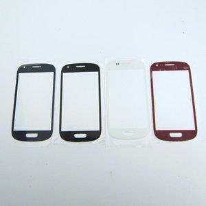 cgjxsCgjxshigh Qualité Nouveau remplacement avant de verre externe lentille tactile de remplacement pour Samsung Galaxy S3 Mini I8190 Blanc Noir Bleu