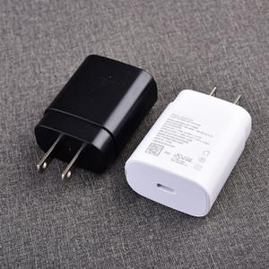 جودة OEM نوعية C ملاحظة 10 USB C شحن سريع EU الولايات المتحدة القابس شاحن سريع PD 25W الجدار شاحن لسامسونج ملاحظة 10 S20 EP-TA800 هواتف أندرويد