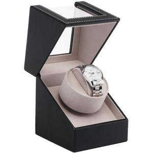 EU / US / AU / Великобритания Plug автоматические механические часы обмотки Box Motor шейкер Часы Winder держатель дисплея ювелирных изделий для хранения Организатор CX200807