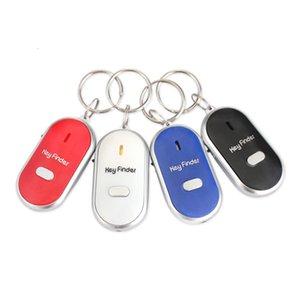 K682 Mini Anti-потерянной цепь Whistle Key Finder Key проблескового Звуковой сигнал дистанционной ключ сумка кошелек локаторы Детский сигнализации Напоминание брелок