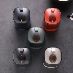 Press automatico del tipo di Toothpick Box stuzzicadenti Holder benna portatile Portastuzzicadenti tavolo Cucina Soggiorno domestica Toothpick Box