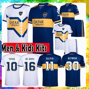 Boca Juniors REYNOSO ALMENDRA Fußball-Trikot VILLA Männer MAURO Fußball-Hemd MARADONA Kinder Kits abila maillot de foot PAVON DE ROSSI TEVEZ