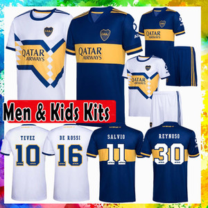 Boca Juniors REYNOSO ALMENDRA Soccer Jersey VILLA MAURO Football Homme T-shirt MARADONA Kits enfants ABILA maillot de pied PAVON DE ROSSI TEVEZ