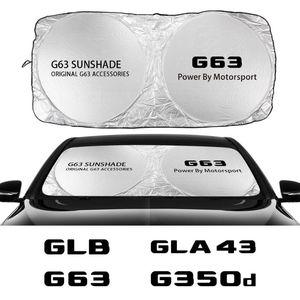Car Windshield Sunshade Cover For G63 G350d G500 GLA GLA43 GLB GLC GLC43 GLE GLE63 GLK GLS GLS63 ML Auto Accessories