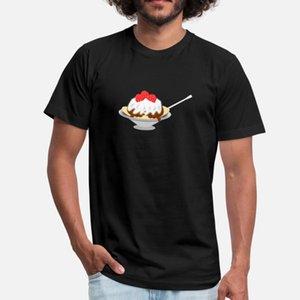 Sundae T-Shirt Männer Designer Baumwolle S-XXXL Normaler Famous beiläufiger Sommer Kawaii Hemd