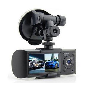 "Dual-Kamera-Auto-DVR R300 mit GPS und G-Sensor 3D 2.7"" TFT LCD X3000 FHD 1080P Cam Video Camcorder Zyklus-Aufnahme"