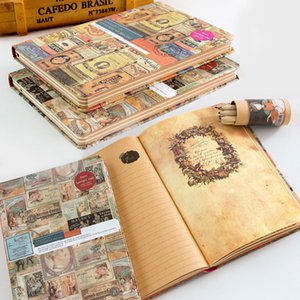 Portable Creative Notebook Retro Journal Drawing Exquisite Diary Book Unique Appearance Design Office Work