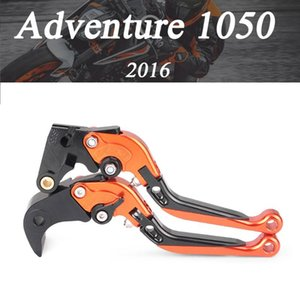 Motorcycle Accessories CNC Folding Extendable Brake Clutch Levers For Adventure 1050 2020 with logo