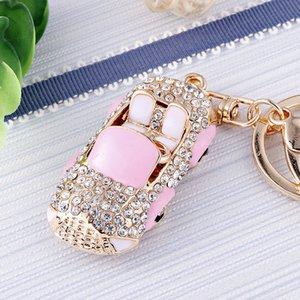 18 цвета милого автомобиль стилизация брелка различных модели автомобиля Keychain дама мешок кулон пар подарок llaveros Mujer Новое прибытие