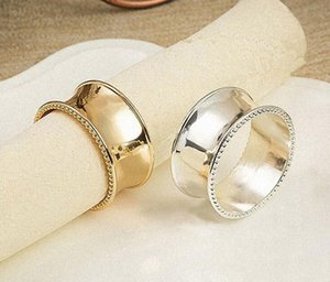 Holders Party Metal Ring Wedding Napkin Decoration Hotel Rings Silver Towel Gold Dinner xhhair qSPvo