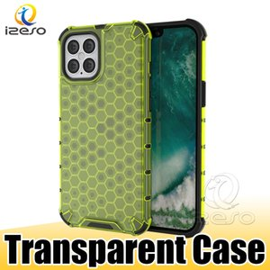 Para iPhone 12 11 Pro Max XS XR Huawei P40 Plus mate 30 Pro izeso Claro contraportada prueba de golpes caja del teléfono móvil del teléfono