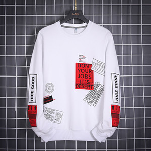 OLOME Hip Hop con capucha de los hombres marca de moda Outwear 2020 nuevo diseño para hombre de Calle Sudaderas con capucha de Harajuku top blanco con capucha