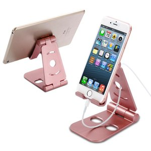 Cgjxs superiore Abs pigro Telefono stand Universal Mobile Phone Holder pieghevole staffa per Iphone Sumsung Tutti Handset flessibile Desk Tablet Pc