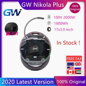 2020 GotWay Nikola Auto Scooter eléctrico altavoz con Bluetooth monociclo patín Hoverboard 100V 2000W Motor 1800WH