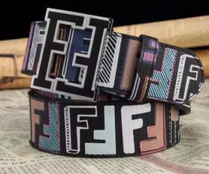 cinture uomini cintura superiore qualità degli uomini Senza Cintura in vera pelle casella di lusso di qualità uomo Fendi