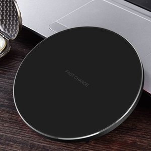 Mini Fast Wireless Charger For Iphone 11 Pro Xs Max Xr 10W Power Fast Charging For Samusng S10 S9 S8 S7 Edge Note 10 With Retail Box