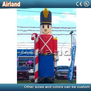 Özelleştirilmiş dev şişme Oyuncak Asker şişme Guardman Ve satılık açıkhava reklam karikatürler ayakta koltuk değneği