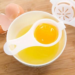Кухонные аксессуары Длинные ручки Пластиковые Течь Яичный Инструмент желток сепаратор белый желток Фильтрация изоляции яйца делителей OWA907