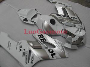 حقن Fairings للطقم الهدايا + لهوندا CBR1000RR 2004 2005 2006 2007 CBR1000 RR 04 05 06 07 غطاء الجسم + الزجاج الامامي الشظية Fairings لل