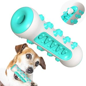 Bone Shaped Dog Toothbrush Toy Durable Dogs Chew Toys Pet Molar Stick for Medium Large Breed Dental Care Tooth Cleaning Supplies