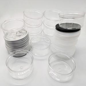 Tin Can Plast Clear Conneraled Packaging Packaging 3,5 г Черные крышки Пищевая высококачественная алюминиевые оловянные банки упаковки сухой травы цветы упаковки