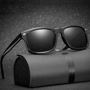 1030 Männer polarisierten Sonnenbrillen square Spiegel Photochromic Sonnenbrillen Frauen Driving Goggles Gafas De Sol Günstige Brillen Online sungla C8BW #