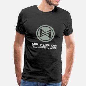 Retour vers le futur M. Fusion hommes de T-shirt t-shirt personnalisé col rond Nouveauté été célèbre mode chemise Tendance