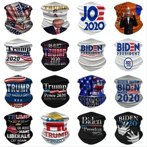 Trump Triangle Magic Scarf President USA Trump Election Multifunctional Bicycle Sunscreen Tubular Headwear Turbans Sea Shipping DDA400