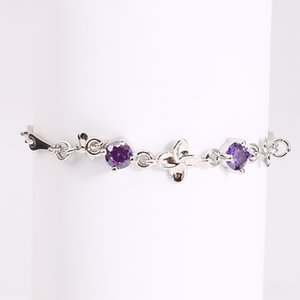 Clover Bracelet Women's Simple Personality Crystal All-Match High Quality 2020 New Lady Fashion Elegant Bracelet