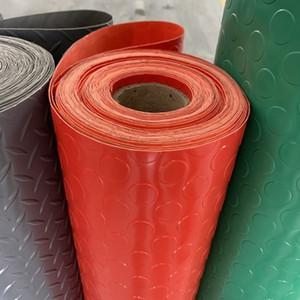 PVC Anti-Rutsch-Kunststoff-Bodenmatten Kupfer Geld Muster Gummi-Kunststoff-Teppiche Fabrik Workshops Kunststoff Anti-Rutsch-Bodenmatten EEA1917