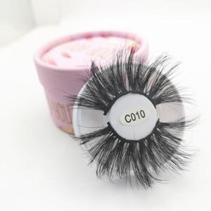 100% Mink Eyelashes False Eyelashes Crisscross Natural Fake lashes Length 30mm Makeup 3D Mink Lashes Extension Eyelash Beauty