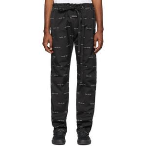 Tanrı Allover Baskı Kargo pantolonlar 2020 Sonbahar Kış ABD Korku SİS İpli Genel Casual Sweatpants Erkekler Kadınlar Jogger Pantolon Sweat