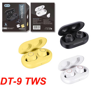 Touch Control DT9 DT9 Bluetooth Earphones Earsets Auscultadores sem fio Auriculares Com Noise reduzir o apoio Chamada para iPhone Series Huawei
