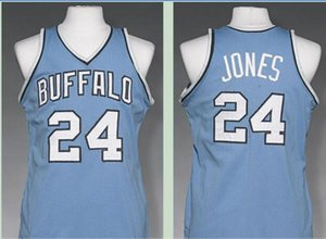 Custom Men Youth women Vintage Vintage Men Buffalo #24 Wil Jones 1977-78 Basketball Jersey Size S-6XL or custom any name or number jersey