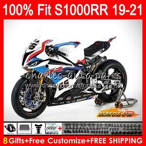 100% Fit Injection mold For BMW S1000 RR S1000RR 19 20 21 Bodywork 88HC.4 factory blue S1000-RR S 1000 RR S 1000RR 2019 2020 2021 Fairings