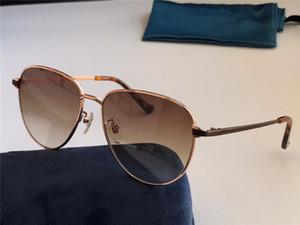 جديد تصميم الأزياء النظارات الشمسية 0577 الطيار المعادن إطار كامل كامل خفيفة الوزن بسيط وشعبية نمط uv400 نظارات واقية في الهواء الطلق