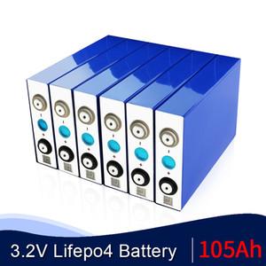 4PCS 2020 NOUVEAU GRADE A 3.2V 105Ah batterie LiFePO4 cellule ne 100Ah 12V105Ah pour EV emballez RV solaire UE diy US TAX FREE