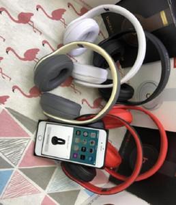 Hottest cuffia stereo senza fili Bluetooth Headset pieghevole auricolare animazione che mostra il supporto TF Costruire-in MIC jack da 3,5 mm per HUAWEI