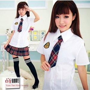 6IeDI Sexy set pure JK student cute game uniform temptation role play Sexy under set pure JK student wear cute game uniform temptation role