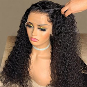 Wig Lace Front Brazilian Remy Hair Curly Bob Wig Deep Wave Short Hair Water Wig Full new