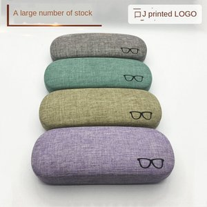 Linen optical case printing shop name linen glasses bag glasses case