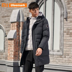 Xiaomi Men's Winter Warm Down Coat Men Down Puffer Jacket Long Coat with Hooded hickened Padded Outerwear Uleemark