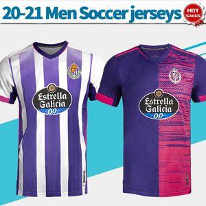 Jerseys de football de Valladolid réel 2020/2021 Hommes Soccer Shirts Personnalisé Uniformes de football La Liga League