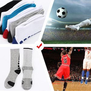 hot sell professional Elite basketball sock long knee Athletic sport sock man fashion breathhable thermal winter sock wholesale