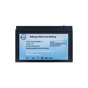 UPS 및 태양 광에 대한 사용자 정의 12.8V 6AH 작은 한 LiFePO4 배터리 팩 12V 리튬 인산 철 배터리