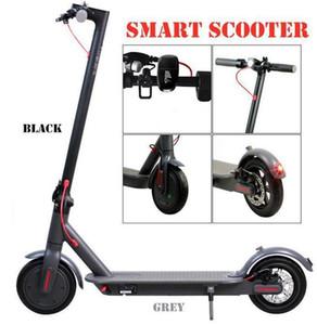 Kick Scooter eléctrico de 250W bicicleta plegable scooters de bicicletas para adultos Visualización 36V con LED de alta velocidad Off Road MK083